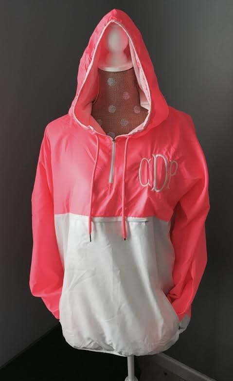 monogram pullover rain jacket monogram anorak monogram rain