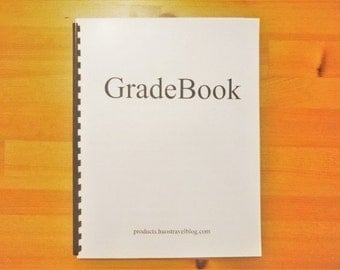 Gradebook: Beautiful gradebook for teachers of all grade levels. FREE SHIPPING within US