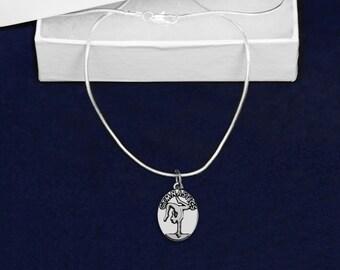 Wholesale Oval Gymnastics Necklaces (18 Necklaces) (N-02-GYM)