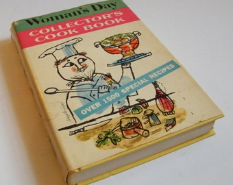 Vintage 1960 Cookbook, Vintage Womans Day Cooking, Vintage Cooking, Cooking, Baking, Vintage Kitchen, MCM Kitchen, Mid Century Book,Cookbook