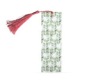 Long Palms Bookmark with Tassel