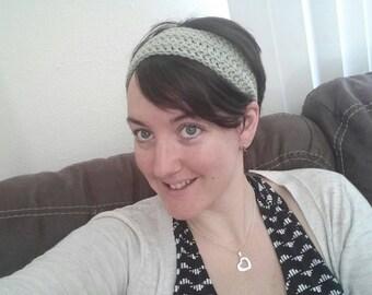 Crochet Headband - Green