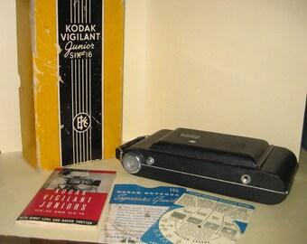 KODAK VIGILANT JUNIOR Six-16 Boxed Camera