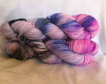 Mermaid Dance - Twisted MCN - hand dyed yarn