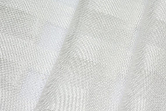 """... Stripes Natural ECO-friendly ~ Extra wide 102"""" ~ sold by the Yard"""