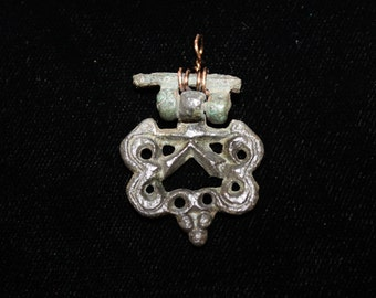 Medieval Book Clasp Pendant