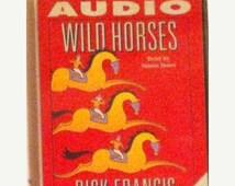 50% OFF Wild Horses Audio Book Cassette Tape Cassette 1 - Dick Francis - Audio Book - Cassette Tape