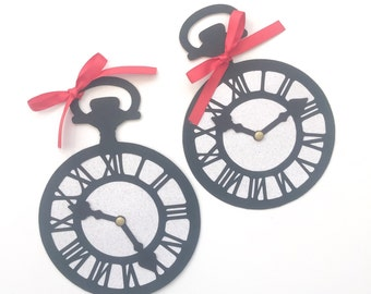 Alice In Wonderland Pocket Watch by Amanda Michelle Design (Set of 2)
