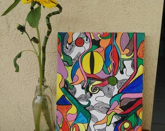 Snake Eye Paint