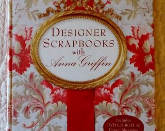 Designer Scrapbooks book and DVD by Anna Griffin