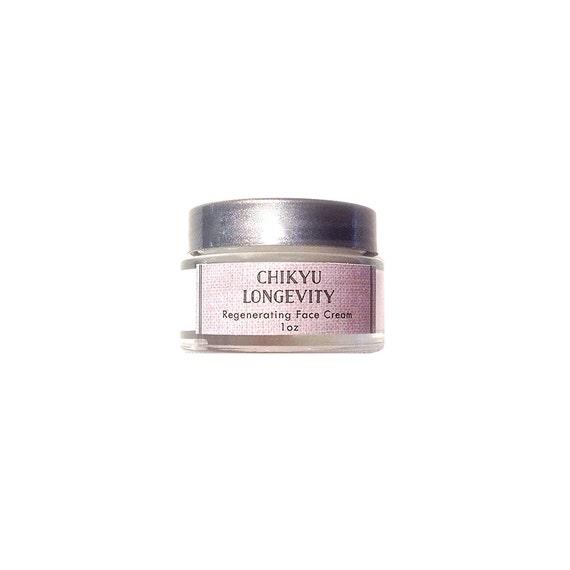 Resveratrol Face Cream, Alpha Hydroxy Face Cream, Hyaluronic Acid Face Cream, Intensive Age Defying, LONGEVITY Regenerating Face Cream