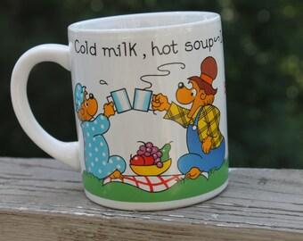 Vintage Berenstain Bears Cup Mug