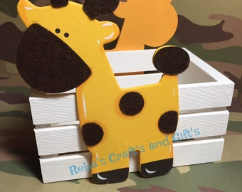 Centerpiece - Noah's Ark / Jungle - Giraffe