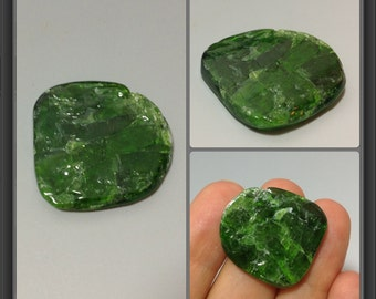 Chrome Diopside/ not drilled