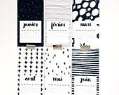 BLACK & WHITE YEAR - Calendrier 2016