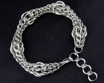 Stainless Steel Bubble Bracelet