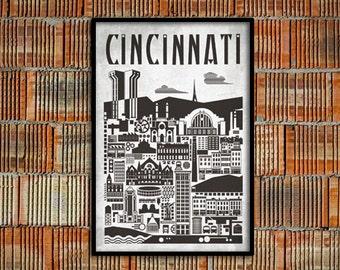 Cincinnati Bauhaus Poster