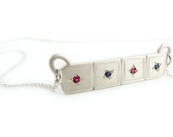 Quartet Bar Pendant, Necklace