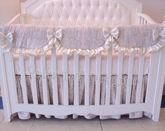 Bumperless Baby bedding: Harmony