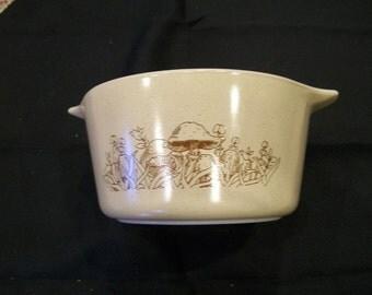VIntage Pyrex Forest Fancies 1 Liter Bowl #473 B