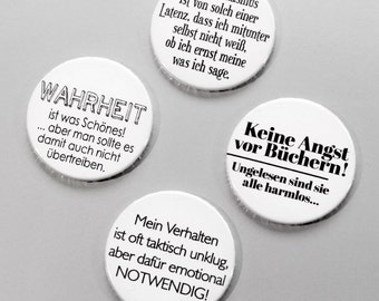 cute as a button  Typo-Magnets Set Nr. 5 – Emotional notwendig