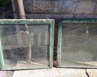 Large Shabby Windows