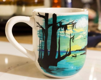 Swamp Scene 10oz. Coffee Mug