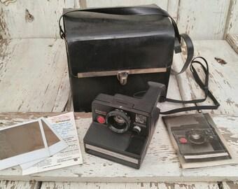 Vintage Polaroid Pronto BC Rangefinder SX-70 Instant Film Camera