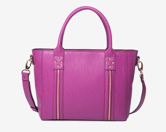 "14"" EVERYDAY BAG laptop tote bag in fuchsia"
