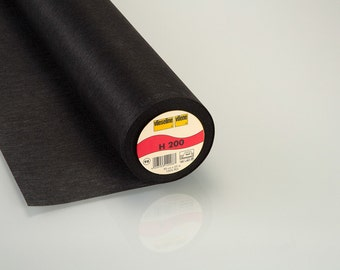 Vilene H200 Interfacing Black - Superlight