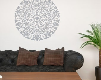 Mandala Stencil Tribal Pattern Surat For DIY Wall Decor Modern Home  Decorative Stencils Part 62