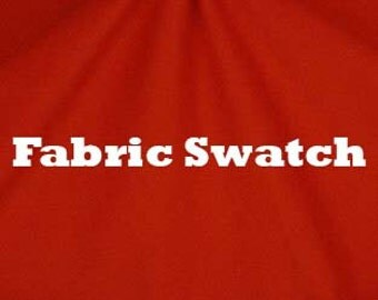 Fabric Swatch - Orange Cotton Knit Jersey Fabric 12 ounce Item#RXPN-CP20-SWATCH