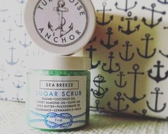 Sea Breeze Sugar scrubTurquoise Anchor