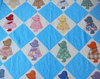 Quilt Hand Pieced and Hand Quilted