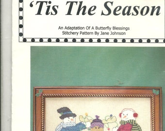 Mayberry Designs:  Tis The Season Cross Stitch Kit