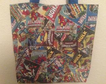 Marvel Comic Tote Bag