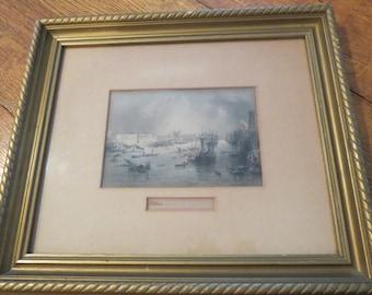 Port of London Framed Print