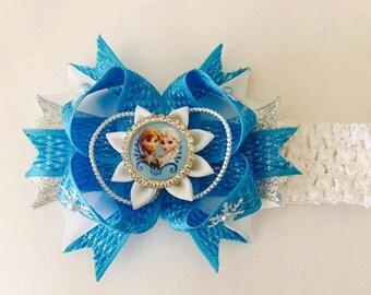 Frozen Baby Headband- Handmade