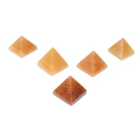 Natural Pyramid Shaped Stones