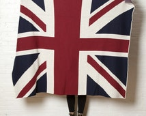 Knitting Pattern For Union Jack Blanket : Popular items for union jack blanket on Etsy