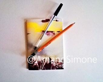 Reeds A6 notebook Valentine teacher gift present Christmas seaside