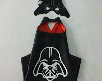 Darth Vader Starwars Capes for Kids READY TO SHIP
