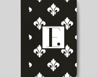 iPad Folio Case, iPad Air Case, iPad Air 2 Case, iPad 1 Case, iPad 2 Case, iPad 3 Case, iPad Mini 1 2 3 4 Case - Fleur De Lys Pattern Case