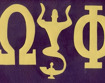 "Shop ""omega psi phi"" in Craft Supplies & Tools"