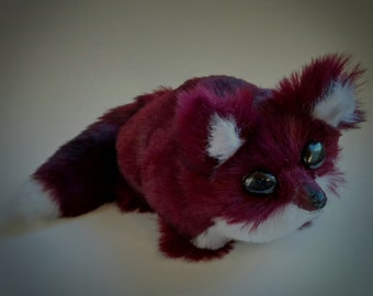 Ruby red plushie Fox