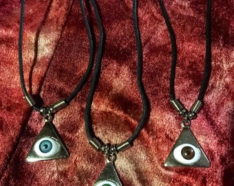 The All Seeing Doll Eye Necklace