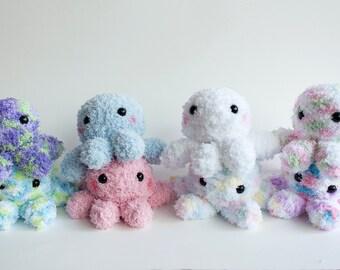 Crochet Octopus Doll