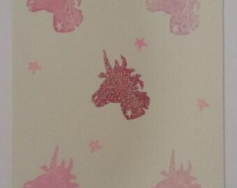 Map Unicorn magic / Magical unicorn card