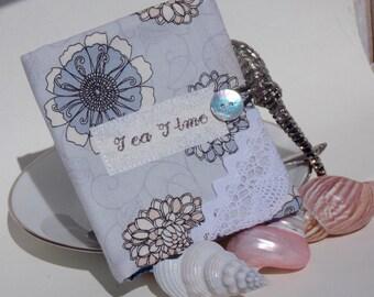 Misty Blue Tea Wallet
