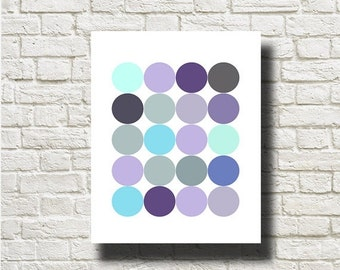 70%OFF Geometric Balls Printable Instant Download Abstract Art Print Poster Wall Art  GF021